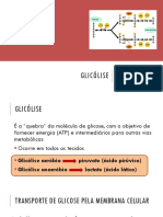Bioquímica - Aula 8 - Glicólise