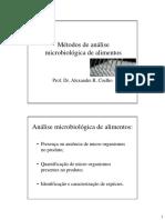 Aula Metodos de Analise Microbiologica-2018