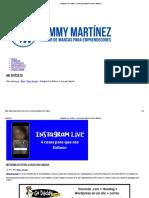 Instagram Live Exitoso, 4 Cosas Para Lograrlo Jommy Martínez
