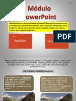 Presentación - PowerPoint - Módulo IV