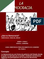 Democracia[