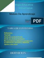 Tecnología Educativa Intruccional