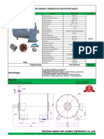 5mW 13.8kV 450RPM 60Hz Permanent Magnet Generator---GREEF NEW ENERGY (1)