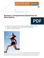 Runners_ Compartment Syndrome vs. Shin Splints _ Muscle & Strength