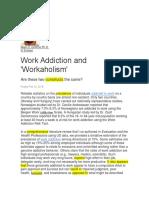 Addiction to Work (1)