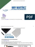 Lo Que Todo Emprendedor Debe Saber Al Elegir Los Hashtags en Instagram