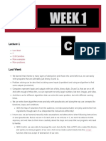 Cs50 Harvard Edu Extension 2019 Spring Weeks 1-8 Compiled Notes