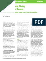 LD 08 Dignosing & Fixing Dysfunctional Teams Anne Fields.pdf