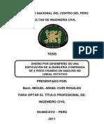 Diseño Por Desempeño Albañilería Confinada