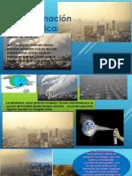 Contaminación atmosféricaPRESENTACION