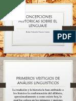 297876797 Concepciones Historicas Sobre El Lenguaje
