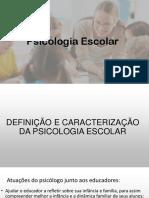 Atuações do Psicólogo Escolar Junto Aos Educadores