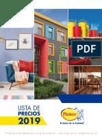 PINTUCO LISTA DE PRECIOS 2019