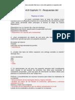 CCNA 1 Cisco v6.0 Capítulo 11 - Respuestas Del Exámen