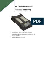 VOCOM II Communication Unit 88894000