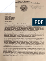 NADC Frank Daley Letter to County Commissioner Tielke