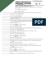 AV 7 Worksheet 1