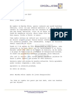Carta Martha Pérez