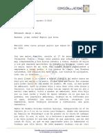 Carta Maria Elena Gallego