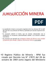 JURISDICCIÓN MINERA