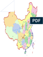 Chinese Province Map