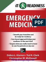 Emergency Medicine Resident Readiness