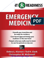 Emergency Medicine Resident Readiness