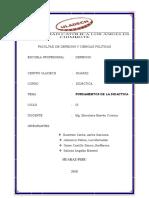 Trabajo Grupal - Actividad de Investigacion Formativa de Unidad i