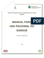 Dirt.ger 03 - Manual Uso Racional Do Sangue