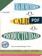 Ingeniería de Métodos - Fernando Burgos Vivas