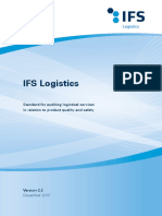 IFS Logistics (Ingles)