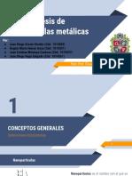Sintesis de nanoparticulas metalicas