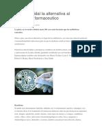 Plata Coloidal La Alternativa Al Antibiótico Farmaceutico