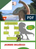 Especialidad de dinosaurios
