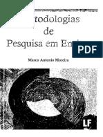 Marco Antônio Moreira - Metodologias de Pesquisa Em Ensino-Editora Livraria Da Física (2011)