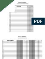Listas Asistencia 2019-2020