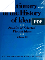 Dictionary in the History of Ideas (III) - Wiener