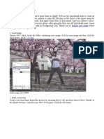 Creating Photo Frame in GIMP