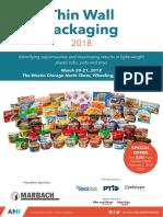 Thin Wall Packaging US 2018 - Program