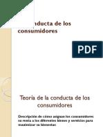 La Conducta de Los Consumidores 13 de Agosto
