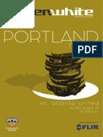 Green & White Magazine | Portland Timbers vs. Atlanta United FC | Aug. 18, 2019