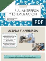 Asep Antisepsia y Esterilizacioìn Pp 150817