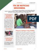 Carta Misionera