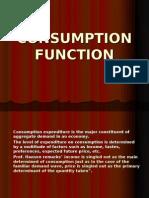 Consumptn Function - Final