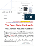 The Deep State or Shadow Government _ Central Intelligence Agency _ Hillary Clinton