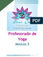 Modulo 5 - Profesorado de Yoga