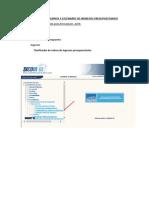 Guía Para Registro de Formulación Presupuestaria de Ingresos