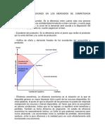 Equilibrio de Mercado en Los Mercados de Competencia Perfecta