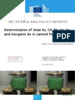 IMEP-118 Corrected Final Report