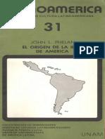 Phelan Origen Idea Latinoamerica